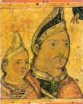 l2-37Portrait of Neagoe Basarab and his son Theodosios