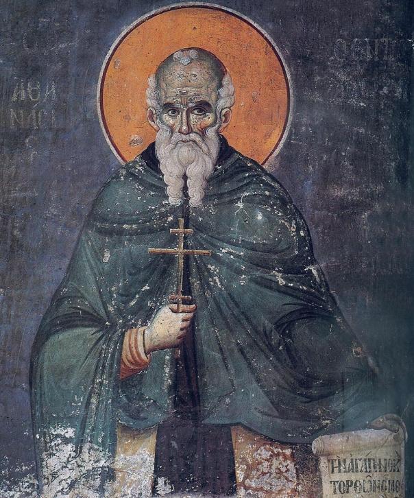 Sf.Athanasie Athonitul-Panselinos-Protathon-Karyes