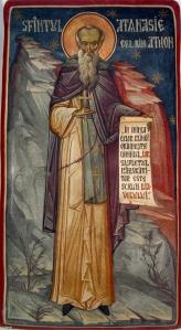 Sf.Athanasie Athonitul-Prodromou-Grigore Popescu-Muscel