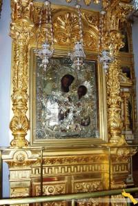 Schitul Sf. Ilie. Icoana Maicii Domnului Inlacrimata