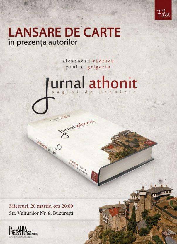 lansare jurnal athonit
