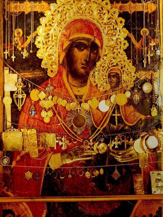 Sf. Ana, Icoana de la Agia Anna Skiti