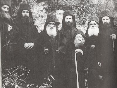 Sinodia Sfantului Iosif Sihastrul de la Schitul Nou (muntele Athos)