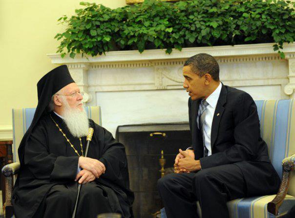 SS Bartolomeu I, Patriarhul Ecumenic şi Barack Obama, Preşedintele SUA