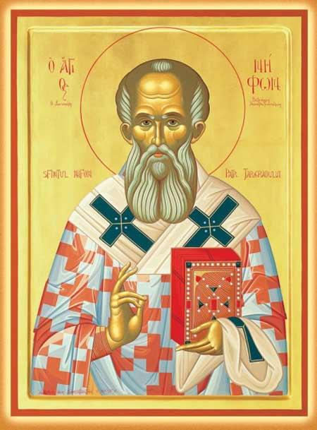 Sf. Ierarh Nifon, Patriarhul Constantinopolului (11 August)