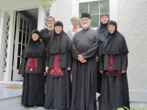 Maica Emiliani, in prezent stareţă la Mănăstire Intrarea Maicii Domnului în Biserică, lângă Washington DC