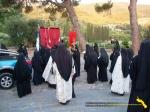 Vatopedi. Procesiune cu Icoana Maicii Domnului Vimatarissa de praznicul Sf. Ilie, 2 aug. 2013 (1)