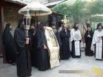 Vatopedi. Procesiune cu Icoana Maicii Domnului Vimatarissa de praznicul Sf. Ilie, 2 aug. 2013 (10)