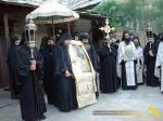 Vatopedi. Procesiune cu Icoana Maicii Domnului Vimatarissa de praznicul Sf. Ilie, 2 aug. 2013 (11)
