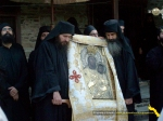Vatopedi. Procesiune cu Icoana Maicii Domnului Vimatarissa de praznicul Sf. Ilie, 2 aug. 2013 (12)