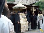 Vatopedi. Procesiune cu Icoana Maicii Domnului Vimatarissa de praznicul Sf. Ilie, 2 aug. 2013 (13)