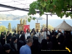Vatopedi. Procesiune cu Icoana Maicii Domnului Vimatarissa de praznicul Sf. Ilie, 2 aug. 2013 (19)