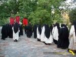 Vatopedi. Procesiune cu Icoana Maicii Domnului Vimatarissa de praznicul Sf. Ilie, 2 aug. 2013 (2)