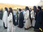 Vatopedi. Procesiune cu Icoana Maicii Domnului Vimatarissa de praznicul Sf. Ilie, 2 aug. 2013 (3)