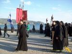 Vatopedi. Procesiune cu Icoana Maicii Domnului Vimatarissa de praznicul Sf. Ilie, 2 aug. 2013 (30)