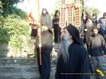 Vatopedi. Procesiune cu Icoana Maicii Domnului Vimatarissa de praznicul Sf. Ilie, 2 aug. 2013 (37)