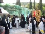 Vatopedi. Procesiune cu Icoana Maicii Domnului Vimatarissa de praznicul Sf. Ilie, 2 aug. 2013 (7)