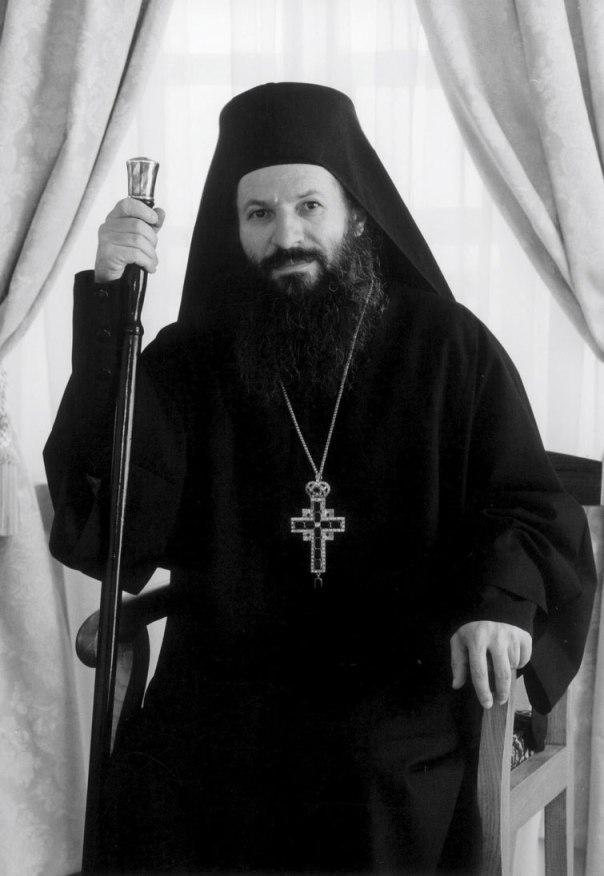 Archimandrite Elissaios. Simonopetras, 2003