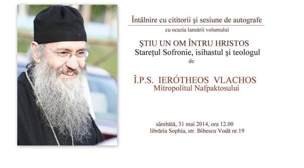 Intalnire cu IPS Ierotheos Vlachos