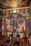 Fresca cu Gheron Iosif in Paraclisul Catedralei din Sfantu Gheorghe2