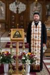 Pr. Cristian Ovidiu Groza si Icoana lui Gheron Iosif la Sfantu Gheorghe