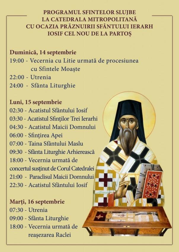 program-praznuire-sf-iosif-de-la-partos-2014-timisoara