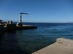 Deserted port at Daphne