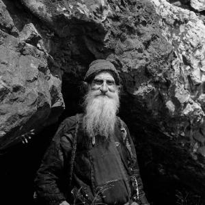 Gheronda Filaret din Karoulia, 1872-1962. Foto Pávlos Mylonás, 1956