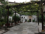 Innner garden at Grigoriou