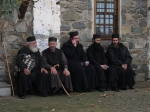 Monks and technology sneaking in Athos