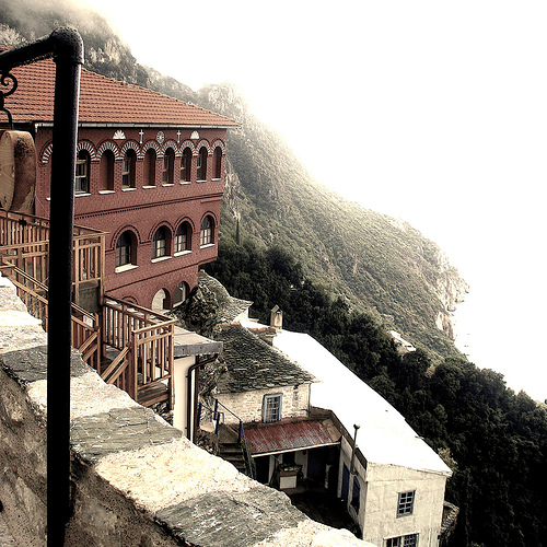 Saint Anne's Skete, Mt Athos, 2007, by dѧvid