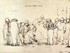 Rembrandt-Christ-and-the-Woman-Taken-in-Adultery