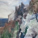 Peisaj la Man. Grigoriu, lucrare de Constantin Flondor