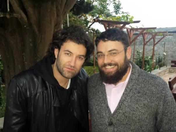 Smiley la Prodromu, cu teologul Alexandru Costea