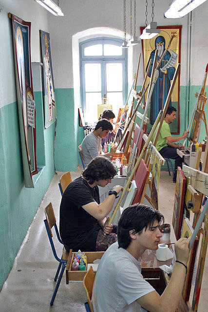 Atelierul de iconografie al Athoniadei
