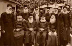 avva Dionisie-Ipathios Kellya Monks