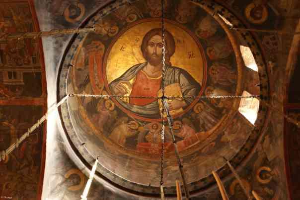 Christ Pantokrator-Stavronikita 1546-Theophanes Strylitzas