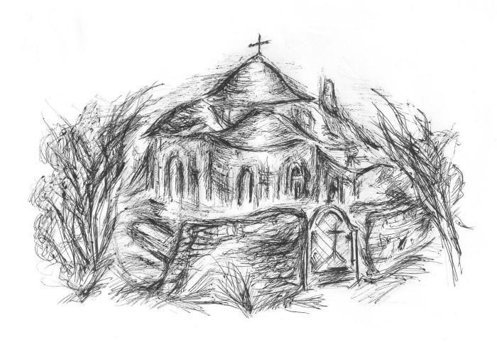 Desenele artistei Gabriela Mihăiță David pentru cartea Cuviosului ...